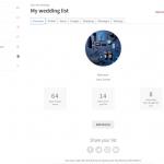Wishlist management area