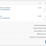 Refund contributions